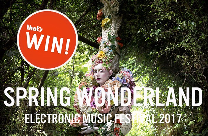 WIN! Tickets to the Spring Wonderland Electronic Music Festival