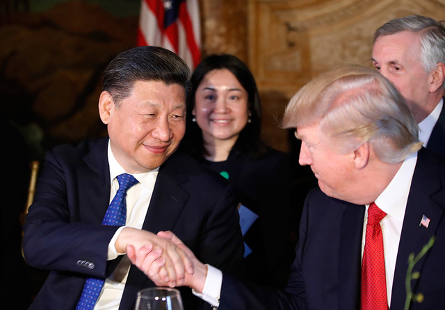 Xi Jinping Meets Donald Trump in Mar-a-Lago Florida United States — That's Mags — thatsmags.com
