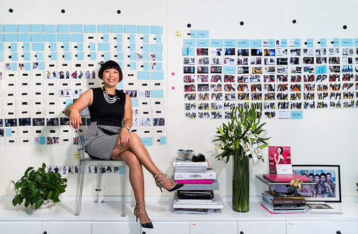 How to Reach Young Chinese Consumers, According to Vogue Editor Angelica Cheung