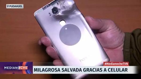 Huawei phone saves man's life