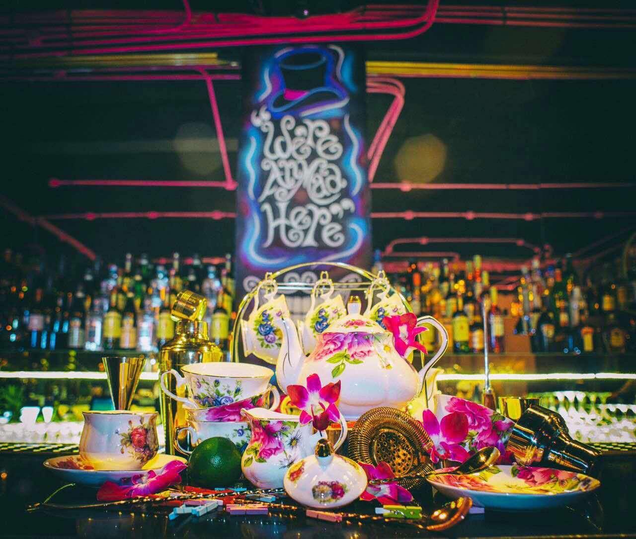Wonderland Cocktail Bar Shanghai