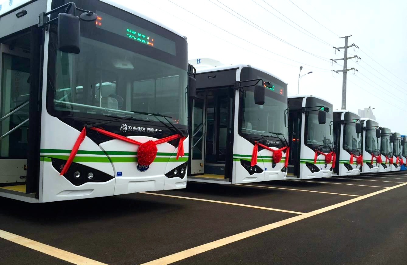 30,000 Electric Buses & Taxis to Hit Guangzhou by 2020