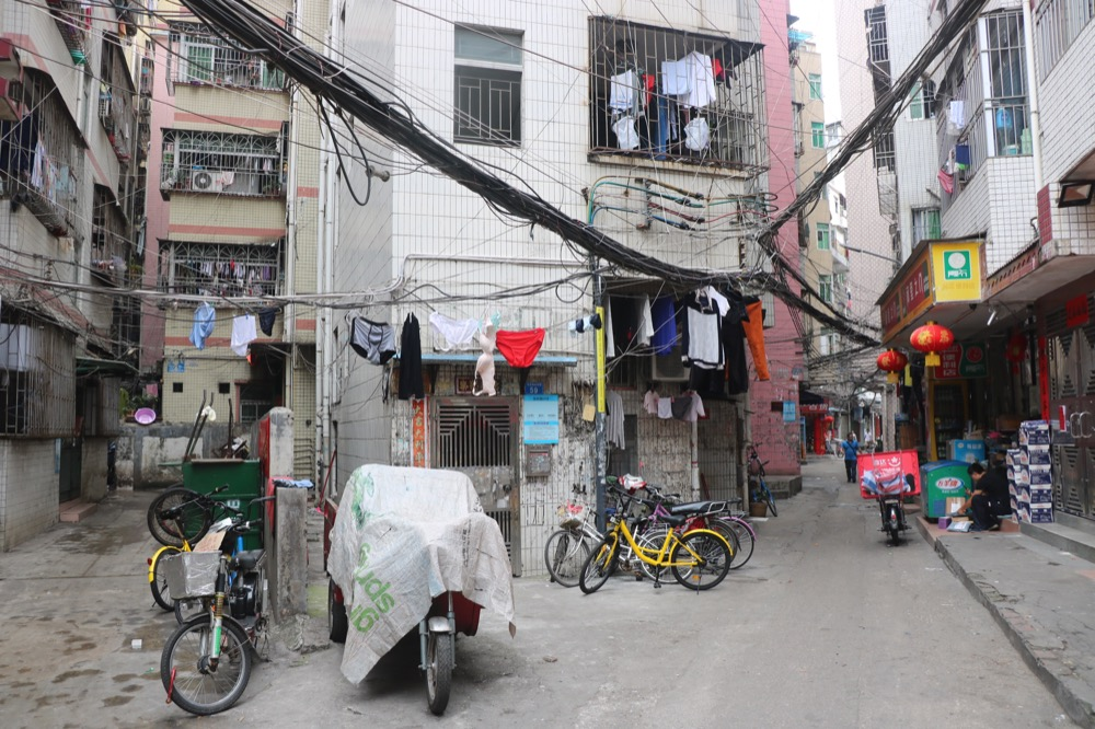 Baishizhou-village-wires-out.JPG
