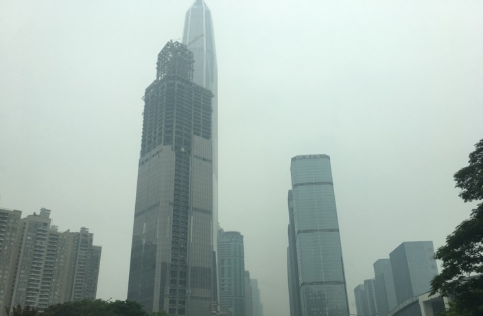 Guangdong's Air Quality is Worse than Beijing's Today