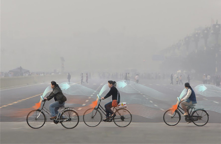 Smog-Free Bicycles Might Soon Become a Real Thing in Beijing