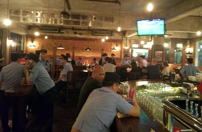 Raided shanghai manhattan bar Best Places
