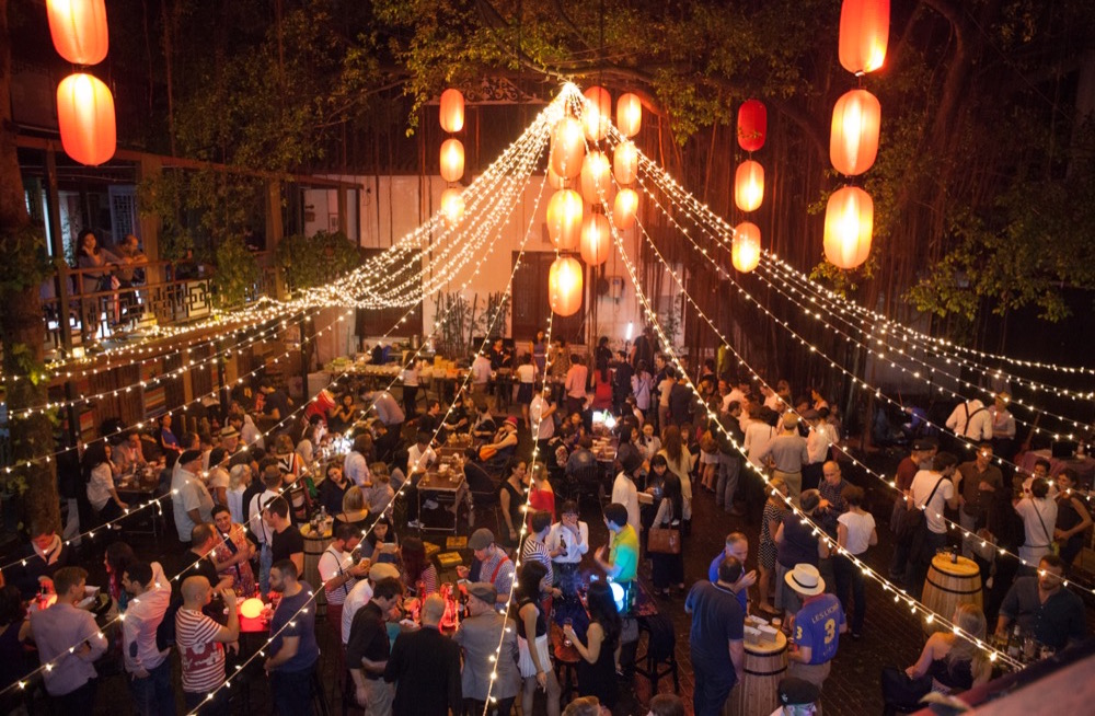 French Party Guinguette Offers Food, Fun And Free Flow