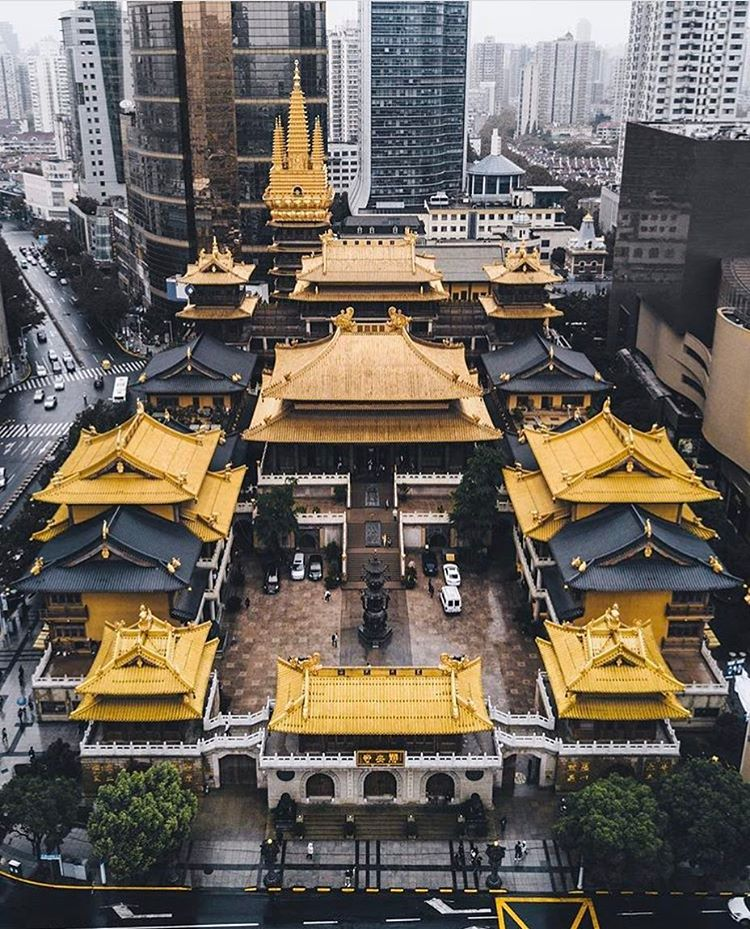 Jing'an Temple by @rkrkrk