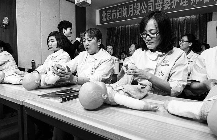 The Maternity Nurses Meeting China's Surging Demand for Live-In Help