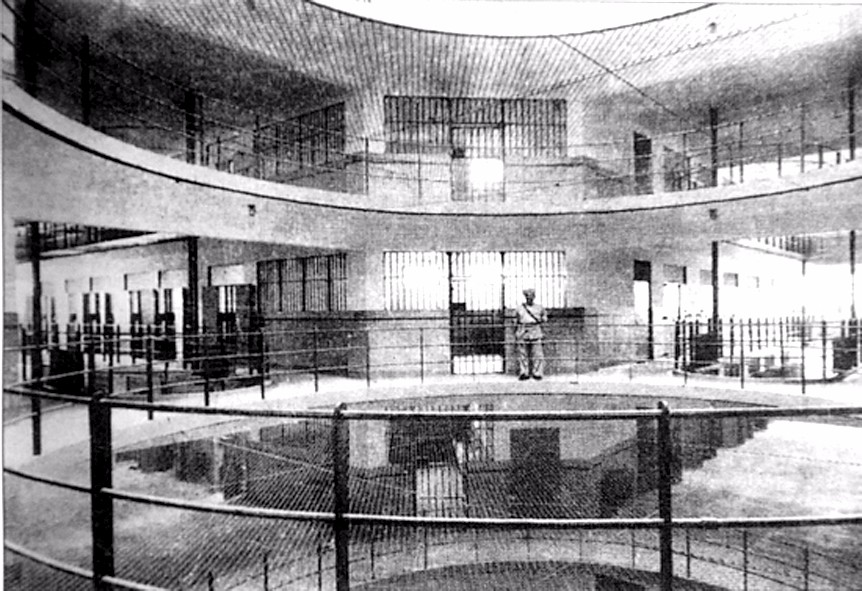 Interiors of Tilanqiao Prison