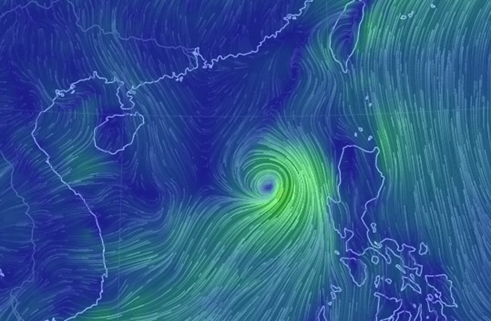 South China on Alert as Typhoon Merbok Approaches