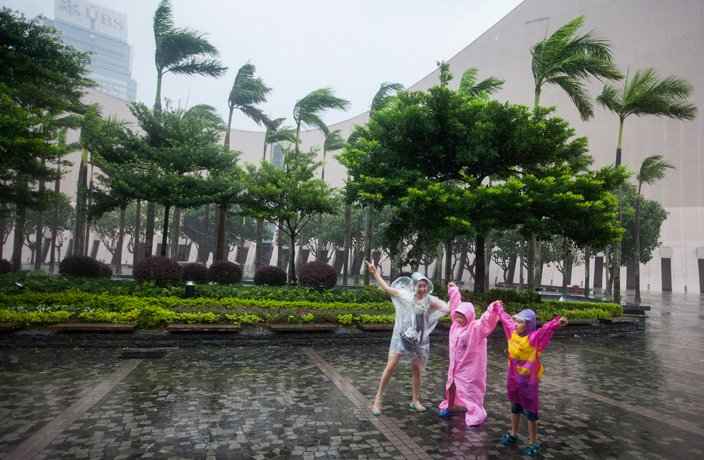 First Typhoon of the Season to Hit South China This Week