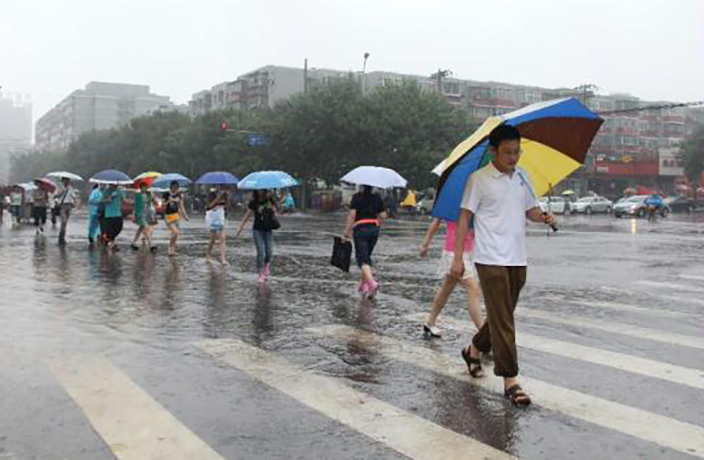 Heavy Rainfall Expected to Soak Beijing Until Saturday