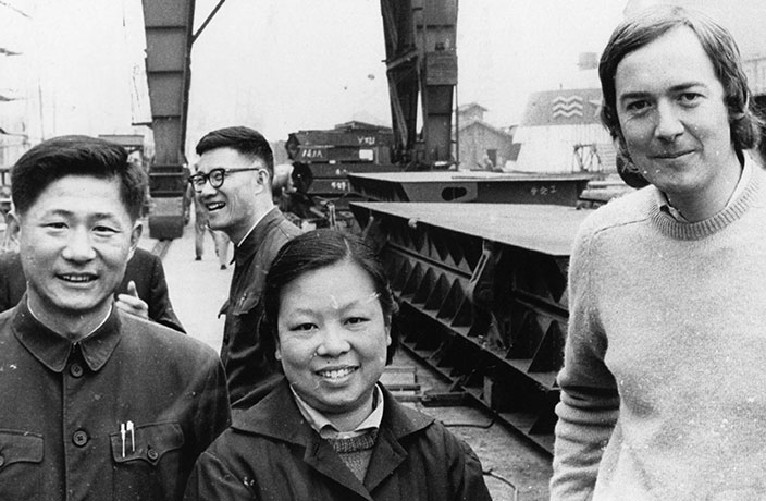 Journalist Stephen Claypole Reflects on His 1972 Trip to Shanghai