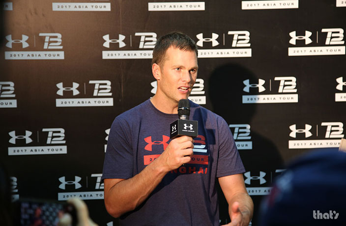 PHOTOS: Tom Brady Visits Shanghai and Beijing