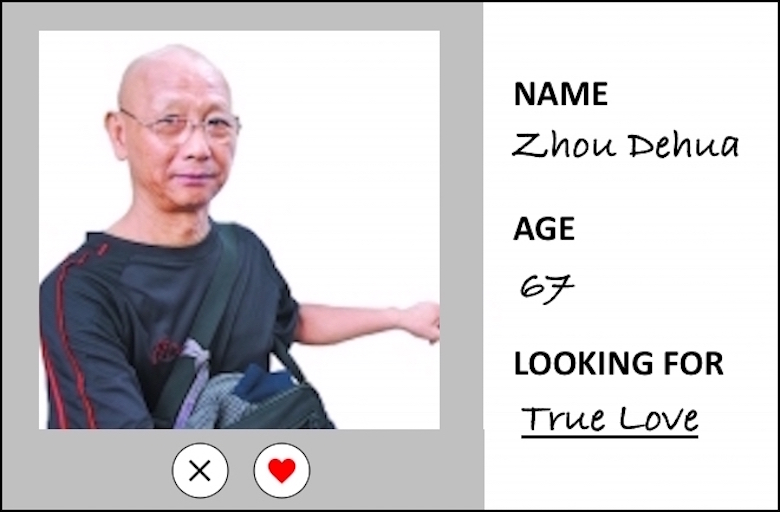 Senior Looks for Love in Shenzhen Marriage Market