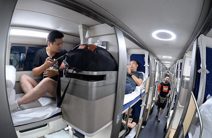 New Beijing to Shanghai High-Speed Trains Feature Super Comfy Beds