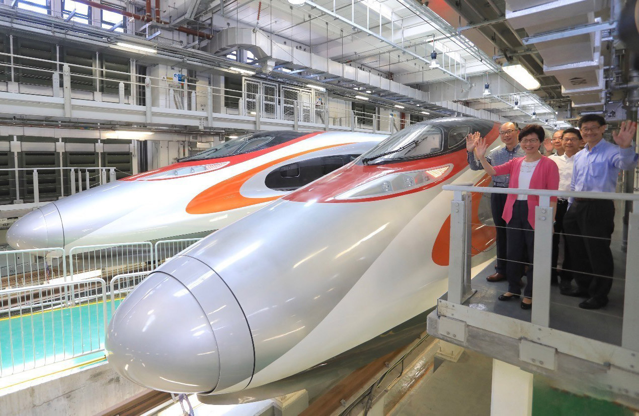 Guangzhou-Shenzhen-HK Fast Train Boasts Wi-Fi