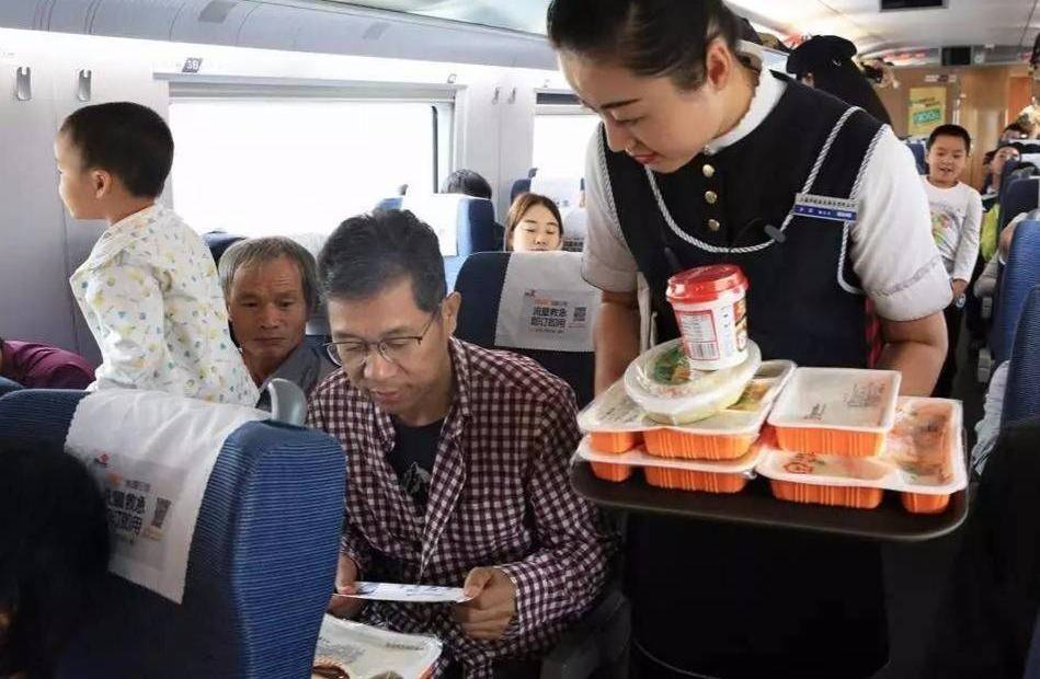 High-Speed Trains Now Have Food Delivery, Here's How to Order