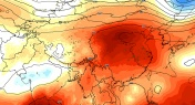 This Map Shows Just How Hot it is in China Right Now