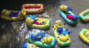 PHOTOS: Bunch of Minions Go Rafting Along Chinese River