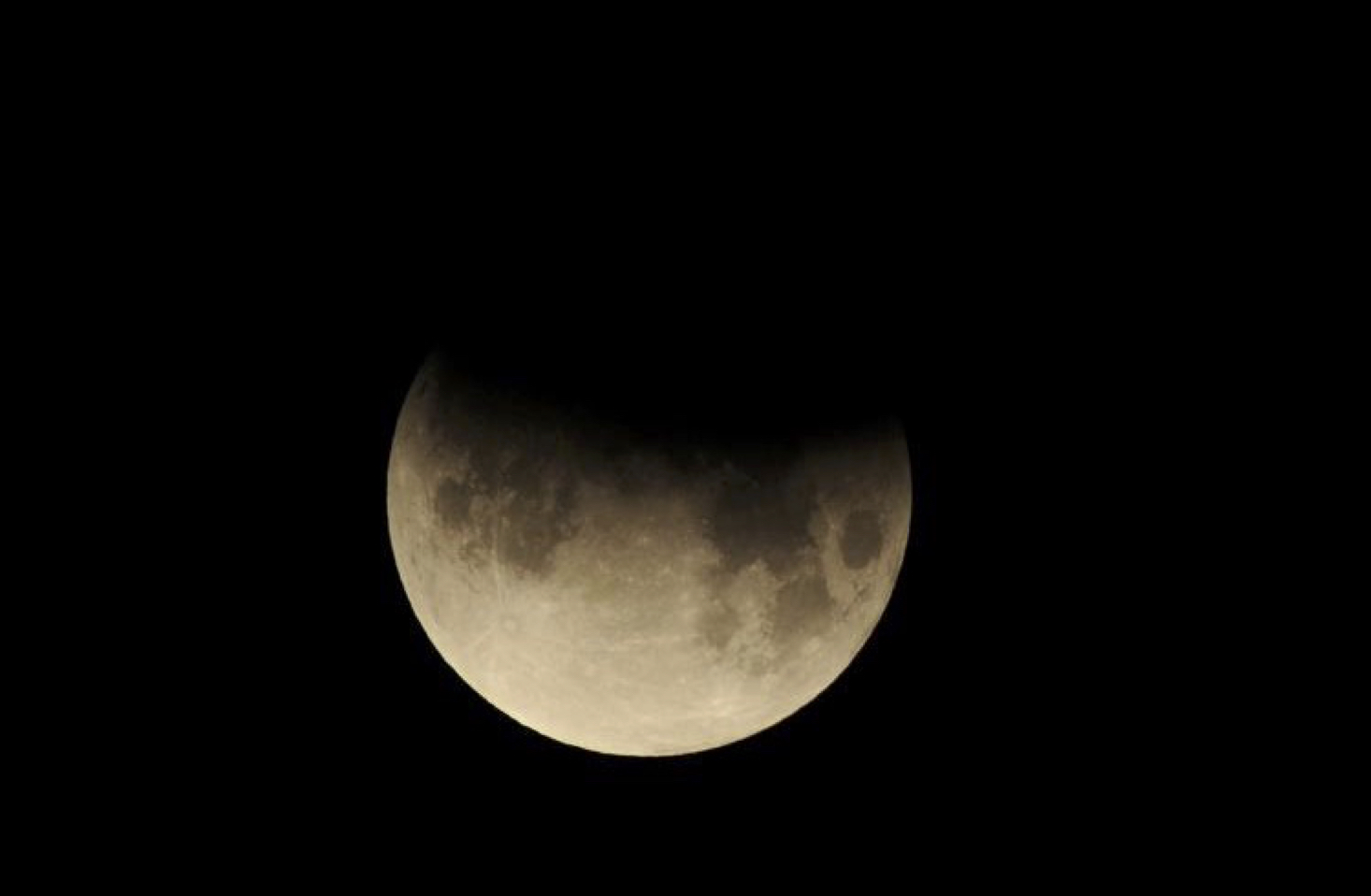 A Partial Lunar Eclipse Will Be Visible Tonight in China