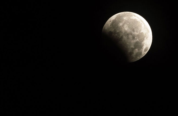 PHOTOS: Last Night's Lunar Eclipse as Seen from China