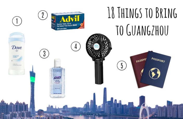 18 Things All Newcomers Absolutely Need to Bring to Guangzhou