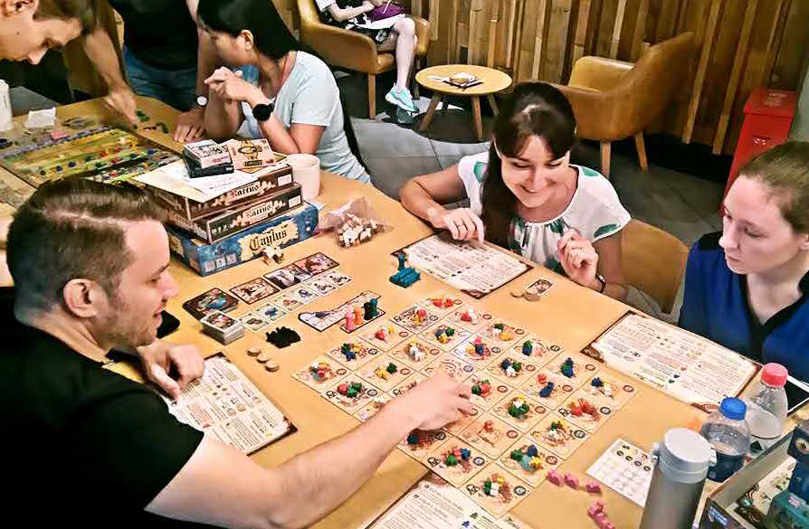 Group board games for adults