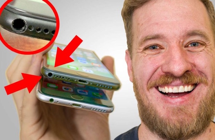 WATCH: Man Adds Headphone Jack to iPhone 7 in Shenzhen