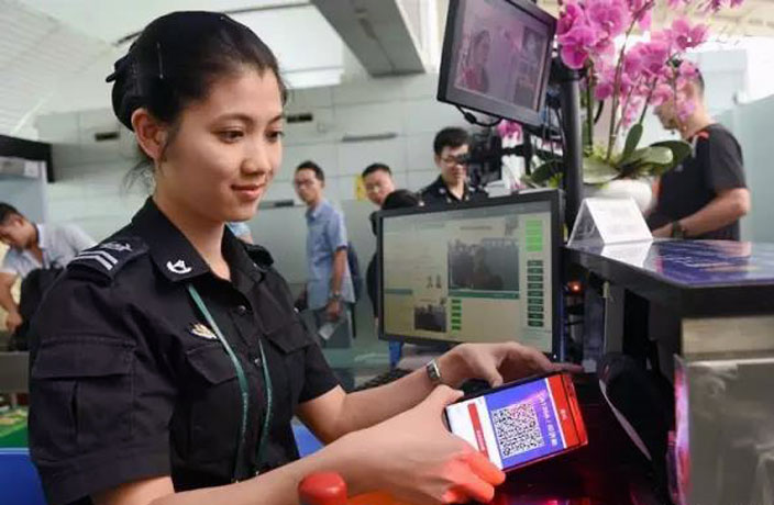 QR Code Boarding Passes Launch at Guangzhou Airport