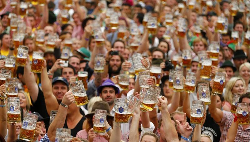 Booze Like a Bavarian at Franziskaner Shanghai Oktoberfest