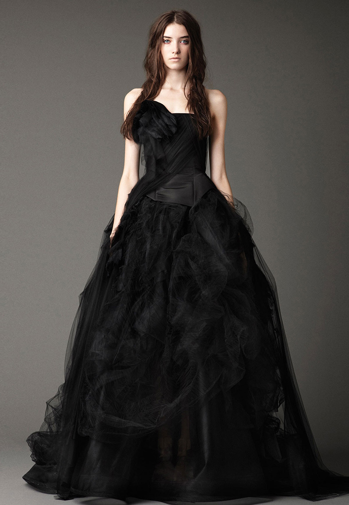 Black wedding collection