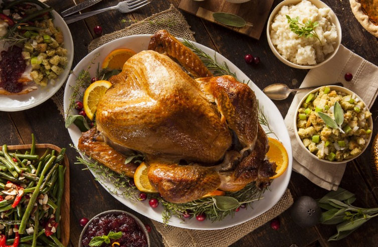 Where to Get Thanksgiving Turkeys in Shanghai 2017 — Shanghai Marriott Hotel Pudong East