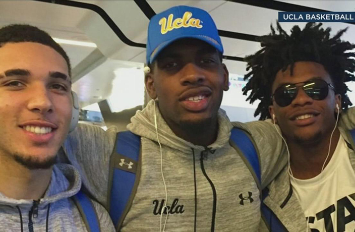 Arrested UCLA Players Leave China After Trump Asks Xi for Help