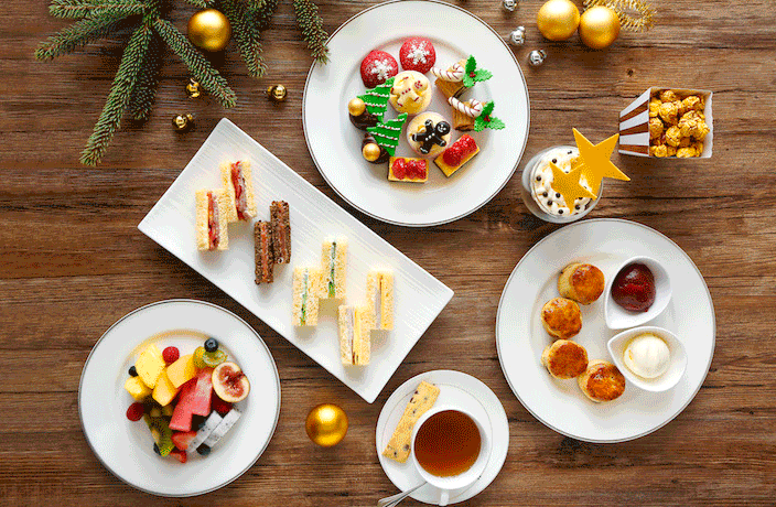 17 Places to Enjoy a Festive Afternoon Tea in Shanghai for Christmas 2017