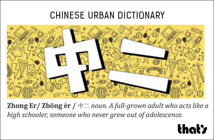 Chinese Urban Dictionary: Zhong Er