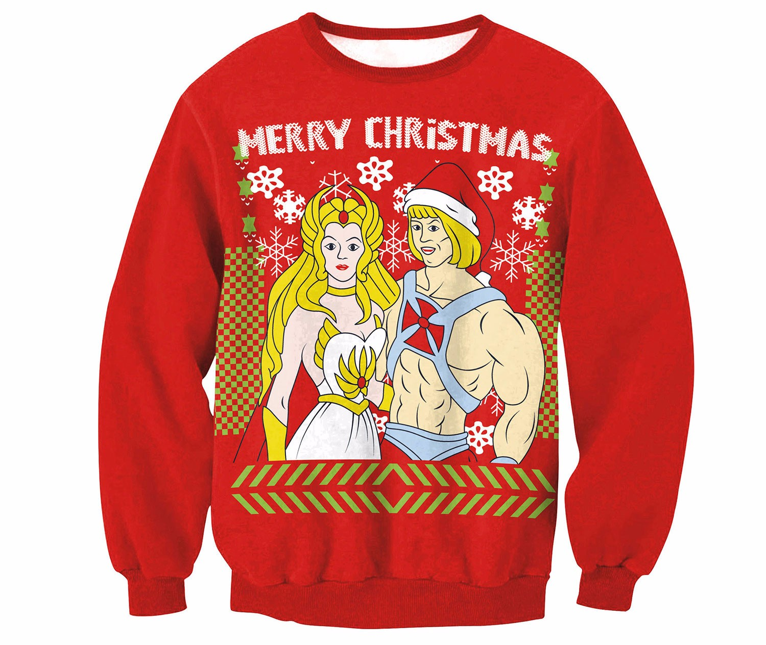 He-Man Christmas sweater
