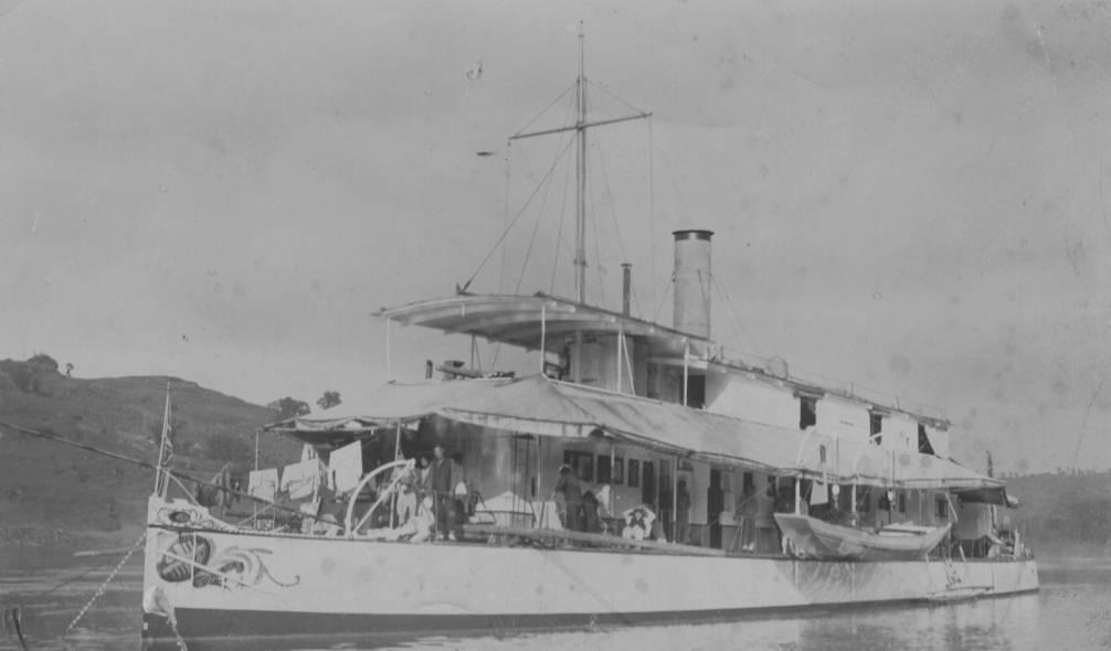 HMS Peterel in Shanghai