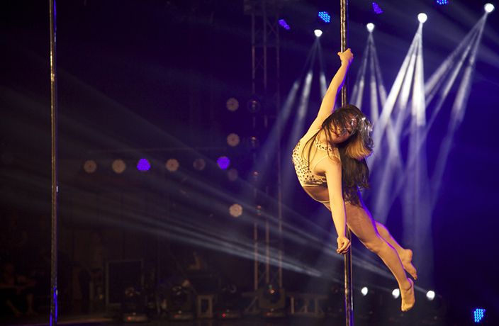 #TBT: Hanging Out with China's National Pole Dancing Team