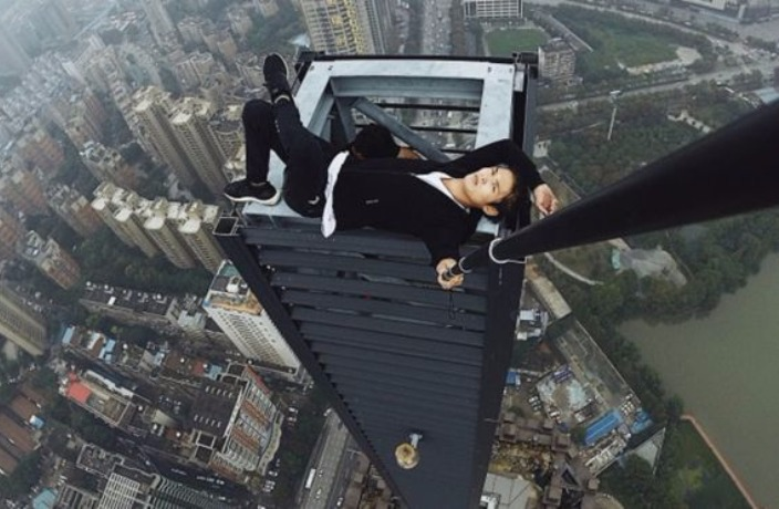 Chinese Rooftopper Dies After Fall from 62-Story Skyscraper