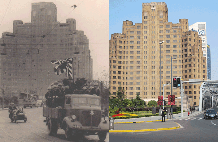 PHOTOS: Japanese Occupation of Shanghai, Then and Now