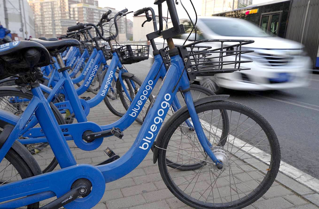 Bluegogo Bikes are Back in Beijing and Shenzhen