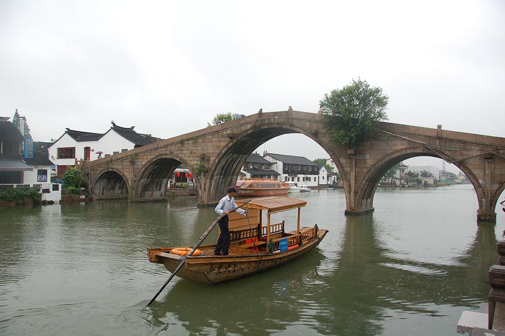 Fangsheng Bridge Shanghai Zhujiajiao Travel Guide