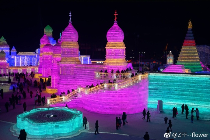 PHOTOS: 2018 Harbin Ice and Snow Festival Begins