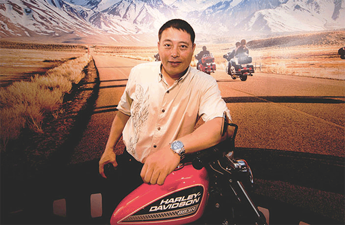 Meet the Man Who Brought Harley-Davidson to China