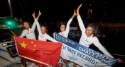Chinese Women Smash Records Rowing Across the Atlantic