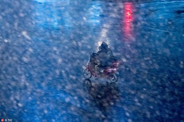 PHOTOS: Shanghai Hit with Rare Snow