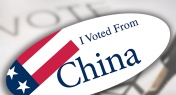 Hey Americans, You Can Register to Vote in Beijing This Weekend