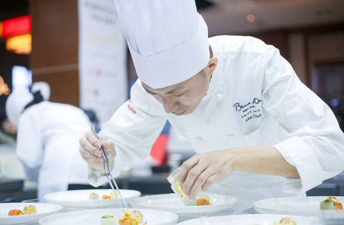 Top Chefs Battle for Glory at Bocuse d'Or China Qualifier